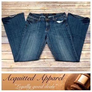 Seven7 Brand | Classic Flare Leg Jeans Long